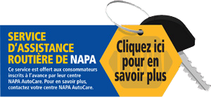 Assistance routière NAPA Saint-Mathieu